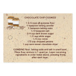 Cookie Mix In A Jar Recipe Tag Business Card Template