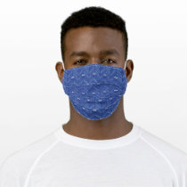 Cookie Monster | 80's Throwback Pattern Adult Cloth Face Mask