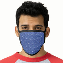 Cookie Monster | 80's Throwback Pattern Face Mask