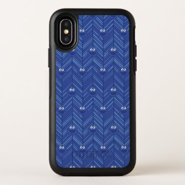 Cookie Monster | 80's Throwback Pattern OtterBox Symmetry iPhone X Case