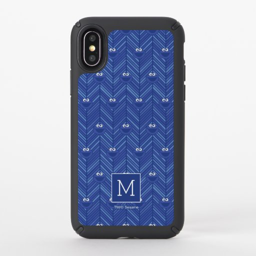 Cookie Monster | 80's Throwback Pattern Speck iPhone X Case
