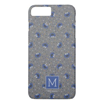 Cookie Monster | 80's Throwback Polka Dot Pattern iPhone 8 Plus/7 Plus Case