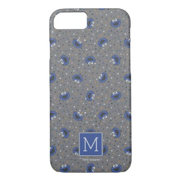 Cookie Monster | 80's Throwback Polka Dot Pattern iPhone 8/7 Case