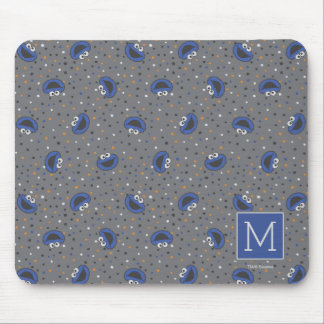 Cookie Monster | 80's Throwback Polka Dot Pattern Mouse Pad