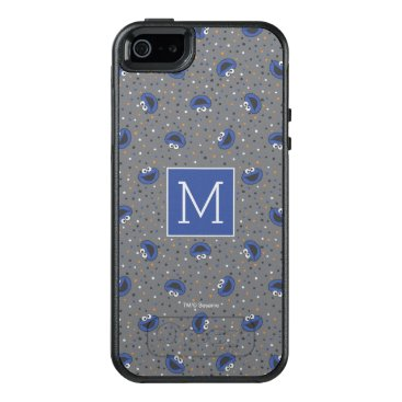 Cookie Monster | 80's Throwback Polka Dot Pattern OtterBox iPhone 5/5s/SE Case