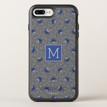 Cookie Monster | 80's Throwback Polka Dot Pattern OtterBox Symmetry iPhone 8 Plus/7 Plus Case