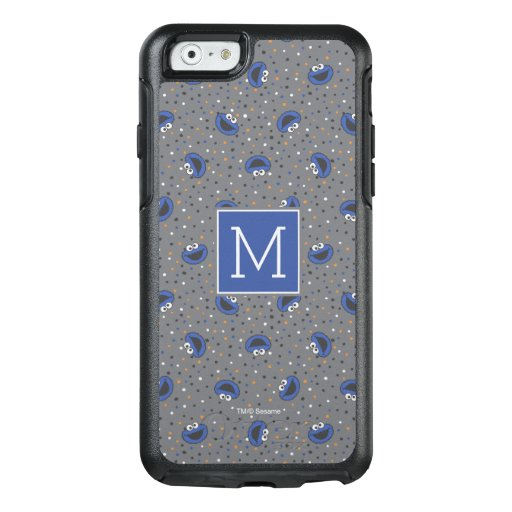 Cookie Monster | 80's Throwback Polka Dot Pattern OtterBox iPhone 6/6s Case
