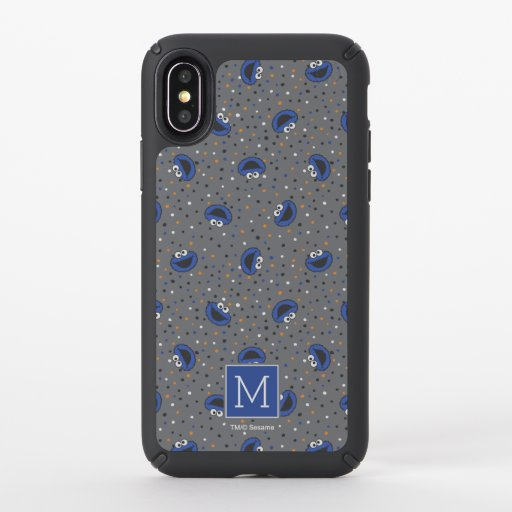 Cookie Monster | 80's Throwback Polka Dot Pattern Speck iPhone X Case
