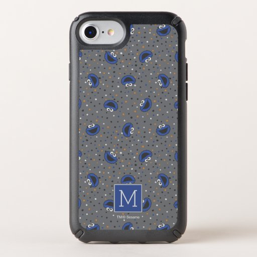 Cookie Monster | 80's Throwback Polka Dot Pattern Speck iPhone Case