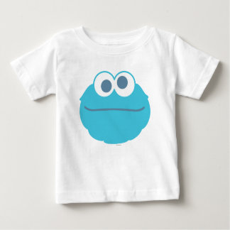 Cookie Monster Baby Big Face Baby T-Shirt