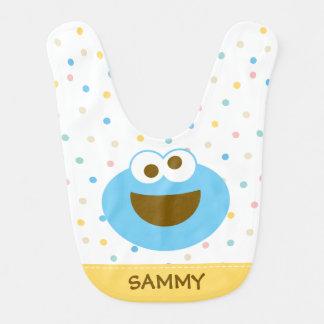 Cookie Monster Baby Big Face Bib