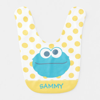 Cookie Monster Baby Big Face Bib