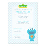 Cookie Monster Baby Birthday Card