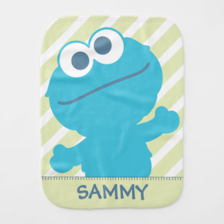 Cookie Monster Baby Body Burp Cloths