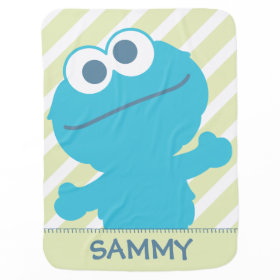 Cookie Monster Baby Body Receiving Blankets