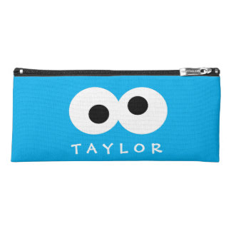 Cookie Monster Big Face | Add Your Name Pencil Case