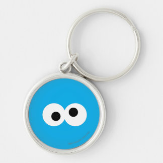 Cookie Monster Big Face Keychain