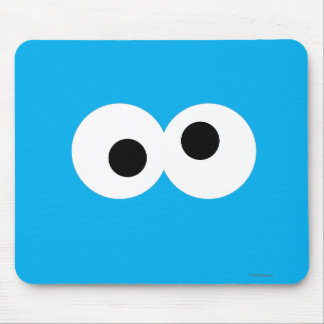 Cookie Monster Big Face Mouse Pad
