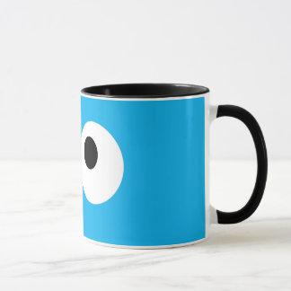 Cookie Monster Big Face Mug