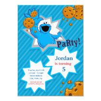 Cookie Monster Birthday Card