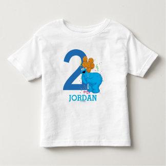 Cookie Monster Boy Birthday Toddler T-shirt