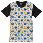 Cookie Monster | C is for Cookie Pattern All-Over-Print T-Shirt
