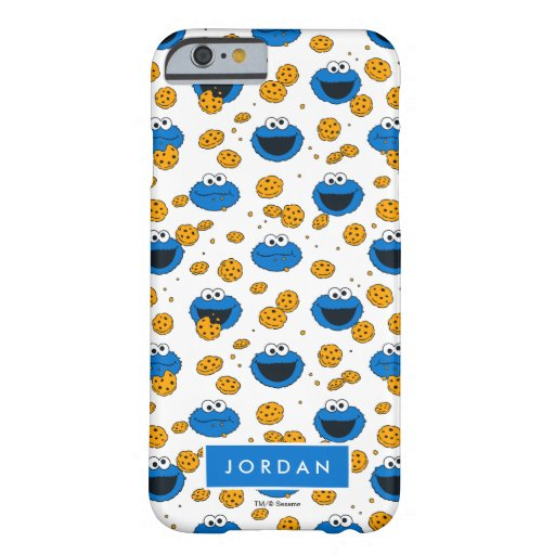 Cookie Monster | C is for Cookie Pattern Barely There iPhone 6 Case