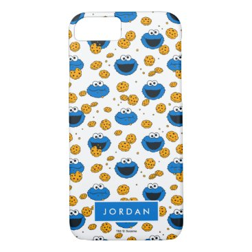 Cookie Monster | C is for Cookie Pattern iPhone 8/7 Case