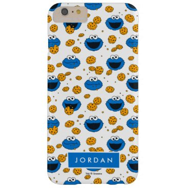 Cookie Monster | C is for Cookie Pattern Barely There iPhone 6 Plus Case