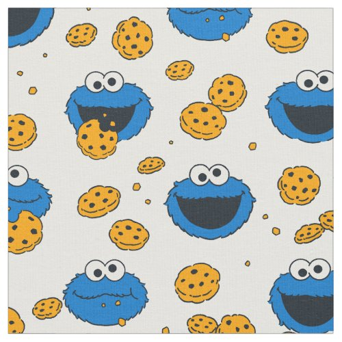 Cookie Monster | C is for Cookie Pattern Fabric