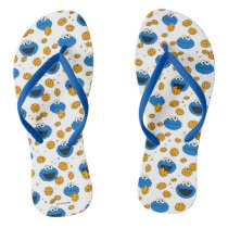 Cookie Monster | C is for Cookie Pattern Flip Flops