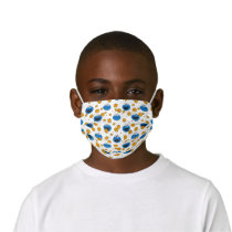 Cookie Monster | C is for Cookie Pattern Kids' Cloth Face Mask