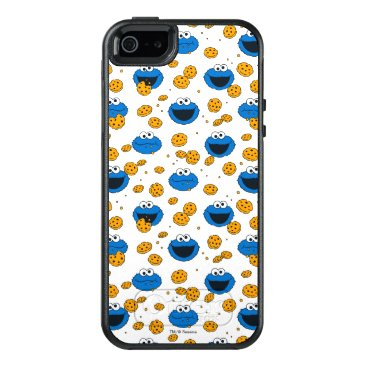 Cookie Monster | C is for Cookie Pattern OtterBox iPhone 5/5s/SE Case