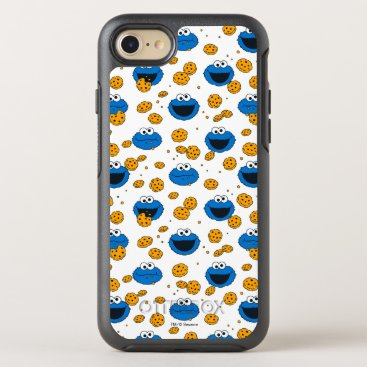 Cookie Monster | C is for Cookie Pattern OtterBox Symmetry iPhone 8/7 Case