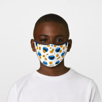 Cookie Monster | C is for Cookie Pattern Premium Face Mask