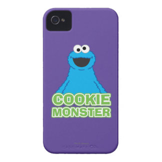 Cookie Monster Character Art iPhone 4 Case