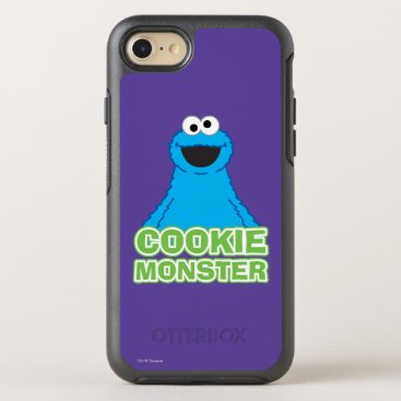 Cookie Monster Character Art OtterBox Symmetry iPhone 8/7 Case