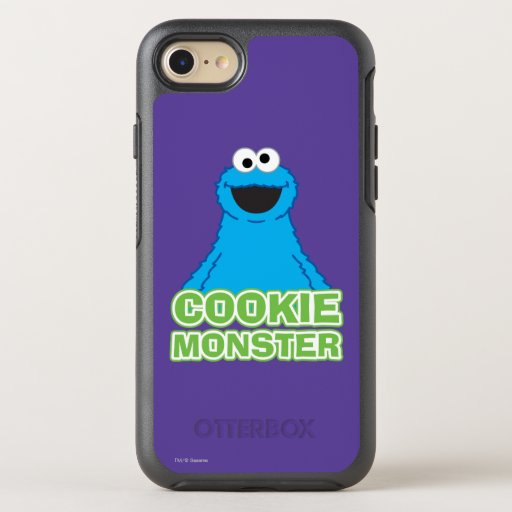 Cookie Monster Character Art OtterBox Symmetry iPhone SE/8/7 Case