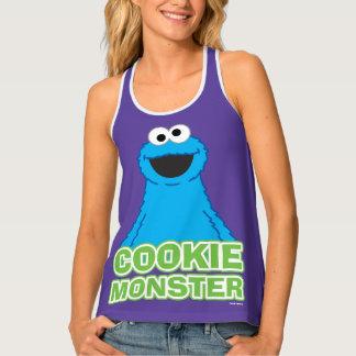 Cookie Monster Character Art Tank Top
