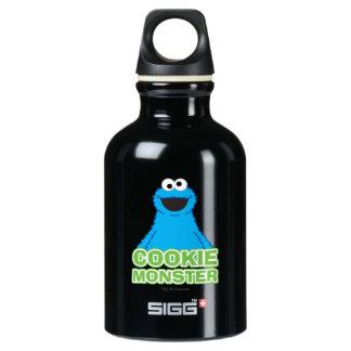 Cookie Monster Character Art Water Bottle
