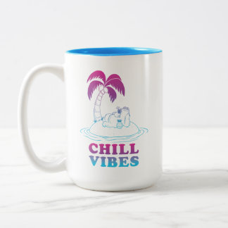 Cookie Monster | Chill Vibes Two-Tone Coffee Mug