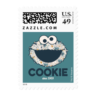 Cookie Monster | Cookie Since 1969 Postage