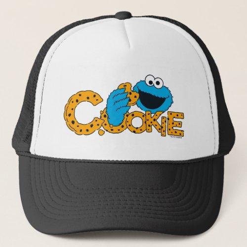 Cookie Monster  Cookie Trucker Hat