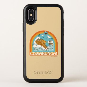 Cookie Monster Cowabunga! OtterBox Symmetry iPhone X Case
