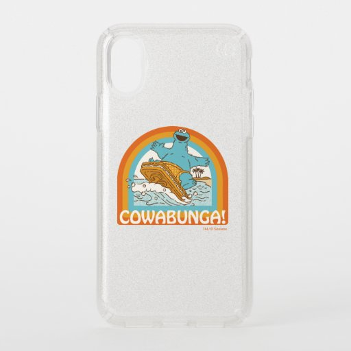Cookie Monster Cowabunga! Speck iPhone X Case