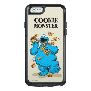 Cookie Monster Crazy Cookies 2 Otterbox Iphone 6/6s Case by SesameStreet at Zazzle