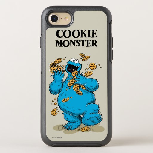 Cookie Monster Crazy Cookies 2 OtterBox Symmetry iPhone SE/8/7 Case