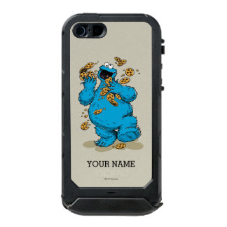 Cookie Monster Crazy Cookies | Add Your Name Waterproof iPhone SE/5/5s Case