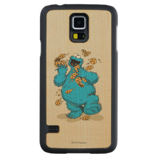 Cookie Monster Crazy Cookies Carved® Maple Galaxy S5 Case