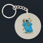 "Cookie Monster Crazy Cookies Keychain<br><div class=""desc"">Cookie Monster goes crazy over cookies!        This item is recommended for ages 13 .&#169;  &#169;  2014 Sesame Workshop. www.sesamestreet.org</div>"